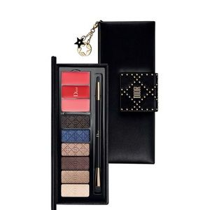 Dior eyeshadow and lip palette